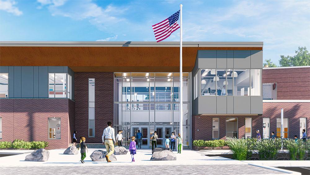 Phelps Elementary School, Rockland, MA